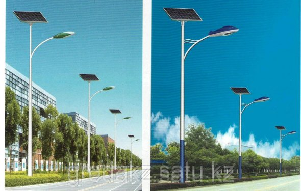 Автономные уличные фонари