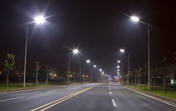 уличное освещение, дороги