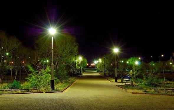 фонари уличное освещение