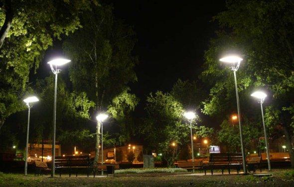 Система уличного освещения