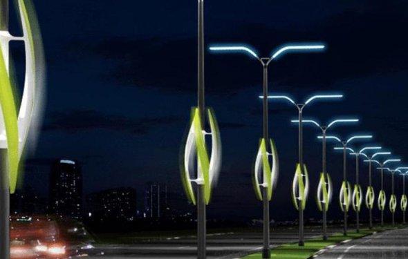 Уличное светодиодное освещение на столбах купить