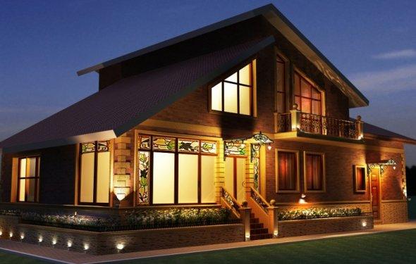 Особенности подсветки фасадов